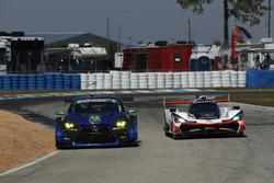 #14 3GT Racing Lexus RCF GT3, GTD: Dominik Baumann, Kyle Marcelli, Philipp Frommenwiler, #7 Acura Te