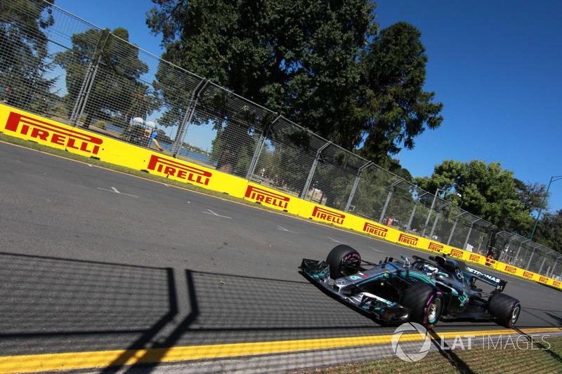 Валттері Боттас, Mercedes-AMG F1 W09 EQ Power