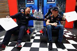 Дэвид Цурусаки и Макс Ферстаппен, Red Bull Racing