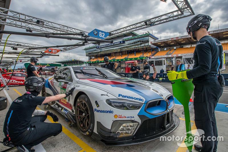 #82 BMW Team MTEK BMW M8 GTE: Antonio Felix da Costa, Alexander Sims