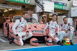 #92 Porsche GT Team Porsche 911 RSR: Майкл Крістенсен, Кевін Естре, Лоренс Вантур, Дірк Вернер