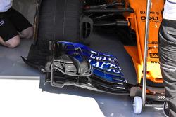 McLaren MCL33 ala frontal
