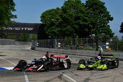 Jordan King, Ed Carpenter Racing Chevrolet, Charlie Kimball, Carlin Chevrolet