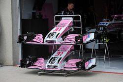 Des ailerons avant pour les Force India VJM11