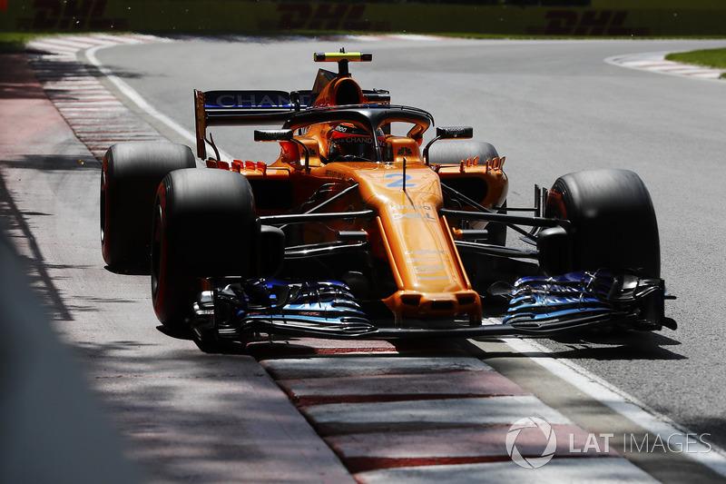 Stoffel Vandoorne, McLaren MCL33.