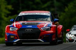 #54 JDC-Miller MotorSports, Audi RS3 LMS TCR, TCR: Michael Johnson, Stephen Simpson