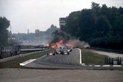 GP de Italia 1978, accidente de Ronnie Peterson
