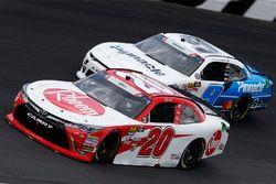 Christopher Bell, Joe Gibbs Racing, Toyota Camry Rheem Tyler Reddick, JR Motorsports, Chevrolet Camaro Pinnacle Financial Partners