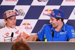Conferenza stampa: Marc Marquez, Repsol Honda Team, Andrea Iannone, Team Suzuki MotoGP