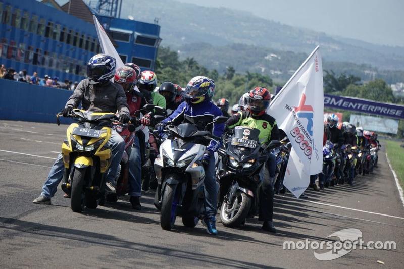 Victory Lap Yamaha Riders Federation Indonesia (YRFI)