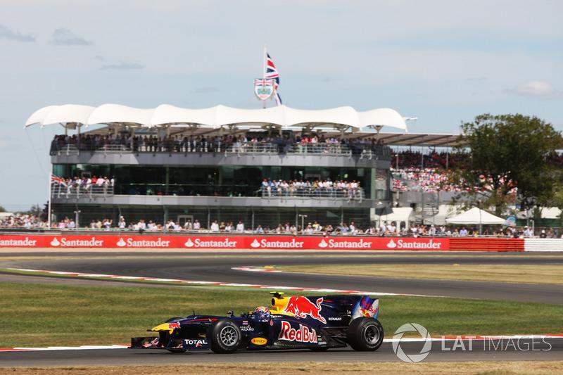 GP da Grã-Bretanha de 2010 – Vencedor: Mark Webber