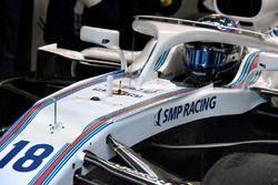 Williams FW41, dettaglio anteriore