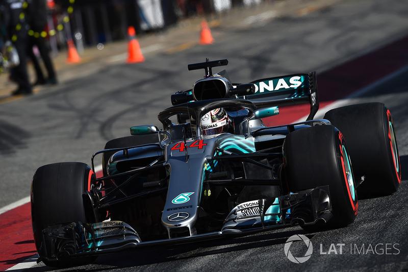 Льюис Хэмилтон, Mercedes-AMG F1 W09