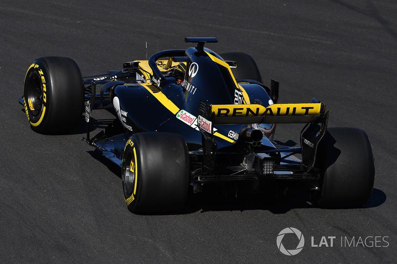4º Renault (Renault, Red Bull, McLaren): 725 vueltas.