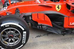 Ferrari SF71H sidepod detail