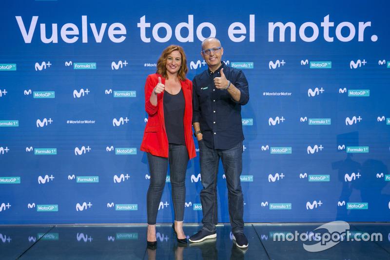Izaskun Ruiz y Ernest Riveras