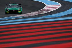 #5 Black Falcon, Mercedes-AMG GT3: Hubert Haupt, Gabriele Piana