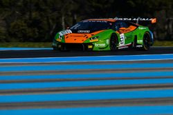 #63 GRT Grasser Racing Team, Lamborghini Huracan GT3: Frank Perera, Rolf Ineichen, Raffaele Gianmari