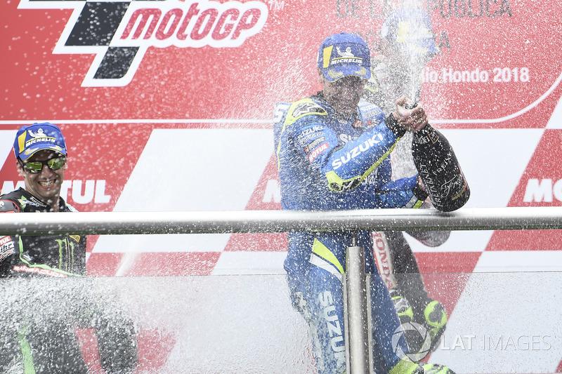 Tercer puesto Alex Rins, Team Suzuki MotoGP