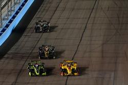 Charlie Kimball, Carlin Chevrolet, James Hinchcliffe, Schmidt Peterson Motorsports Honda, Ryan Hunte