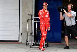 Sebastian Vettel, Ferrari nel parco chiuso