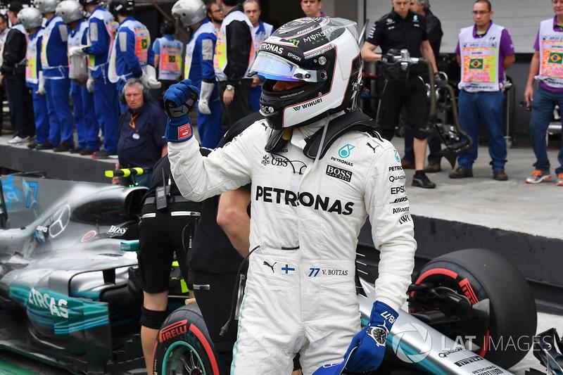19º GP de Brasil 2017 - Pole para Valtteri Bottas
