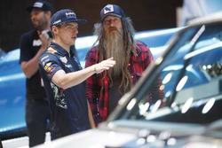 Max Verstappen, Red Bull Racing with Magnus Walker