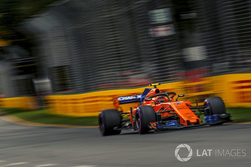 10 місце — Стоффель Вандорн, McLaren. Умовний бал — 10,231