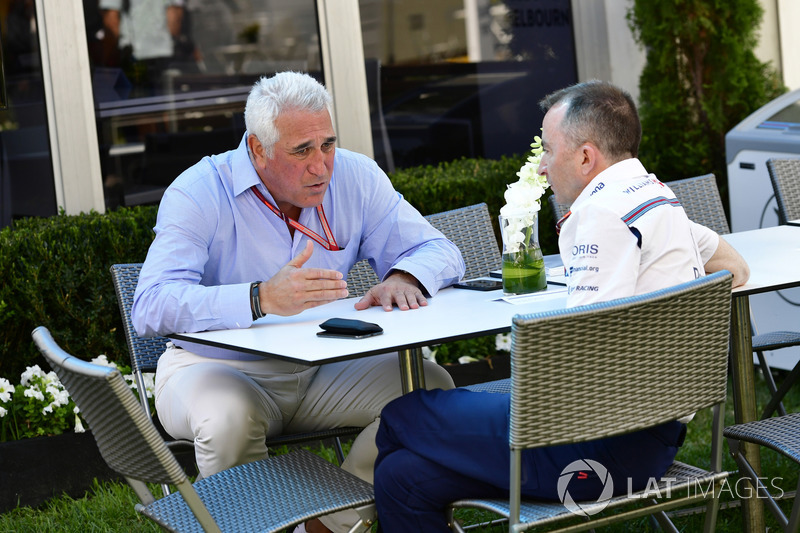 Lawrence Stroll, Paddy Lowe, Williams