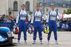 #36 Signatech, Alpine A460: Gustavo Menezes, Nicolas Lapierre, Stéphane Richelmi