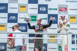 Podium: Anthoine Hubert, Van Amersfoort Racing Dallara F312 - Mercedes-Benz