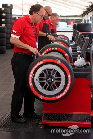 Firestone tire engineers