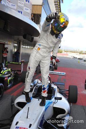 Ganador de la carrera Dorian Boccolacci, Teo Martin Motorsport