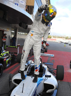 Race winner Dorian Boccolacci, Teo Martin Motorsport