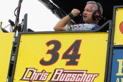 Bob Osborne, crew chief for Chris Buescher