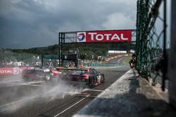 #4 Belgian Audi Club Team WRT, Audi R8 LMS: Filipe Albuquerque, Rodrigo Baptista, Sergio Jimenez; Ke