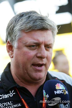 Otmar Szafnauer, Sahara Force India F1 Chief Operating Officer