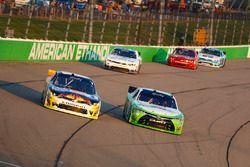 Josh Berry, JR Motorsports Chevrolet, Dakoda Armstrong, Joe Gibbs Racing Toyota