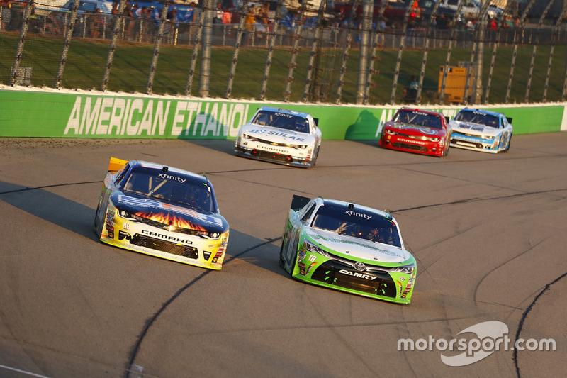 Josh Berry, JR Motorsports, Chevrolet; Dakoda Armstrong, Joe Gibbs Racing, Toyota