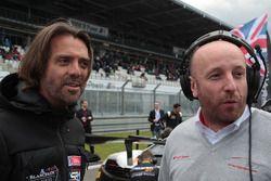 Stéphane Ratel CEO und Gründer von SRO Motorsport Group mit Vincent Vosse