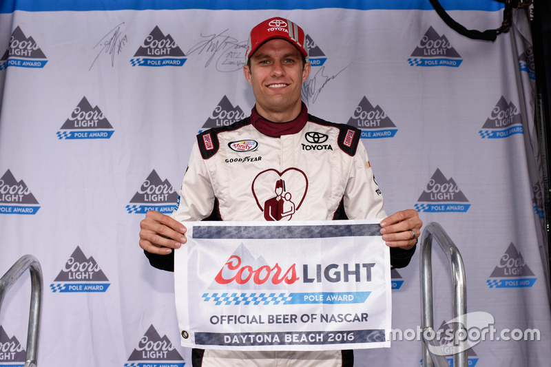 Polesitter David Ragan, Joe Gibbs Racing, Toyota