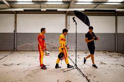 Mitch Evans, Campos Racing; Jordan King, Racing Engineering