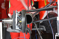 Ferrari SF16-H front disc brake detail
