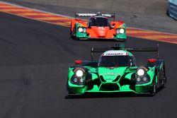 #2 Tequila Patron ESM, Ligier JS P2: Scott Sharp, Johannes van Overbeek, Luis Felipe Derani; #55 Maz