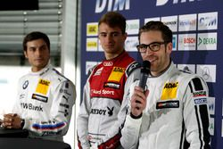 Press conference: Bruno Spengler, BMW Team MTEK; Nico Müller, Audi Sport Team Abt Sportsline; Maximi