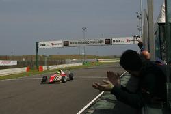 Zielflagge für Mick Schumacher, Prema Powerteam
