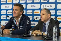 Alejandro Agag, PDG de la Formule E et Jean Todt, Président de la FIA