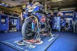 La moto d'Alex Lowes, Pata Yamaha