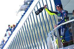 Подиум: победитель - Валентино Росси, Yamaha Factory Racing