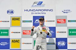 Podium : Maximilian Günther, Prema Powerteam Dallara F312 – Mercedes-Benz